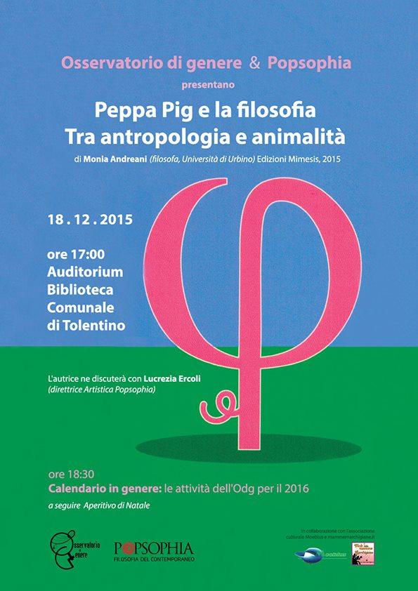 Peppa Pig e la Filosofia. Tra Antropologia ed Animalità