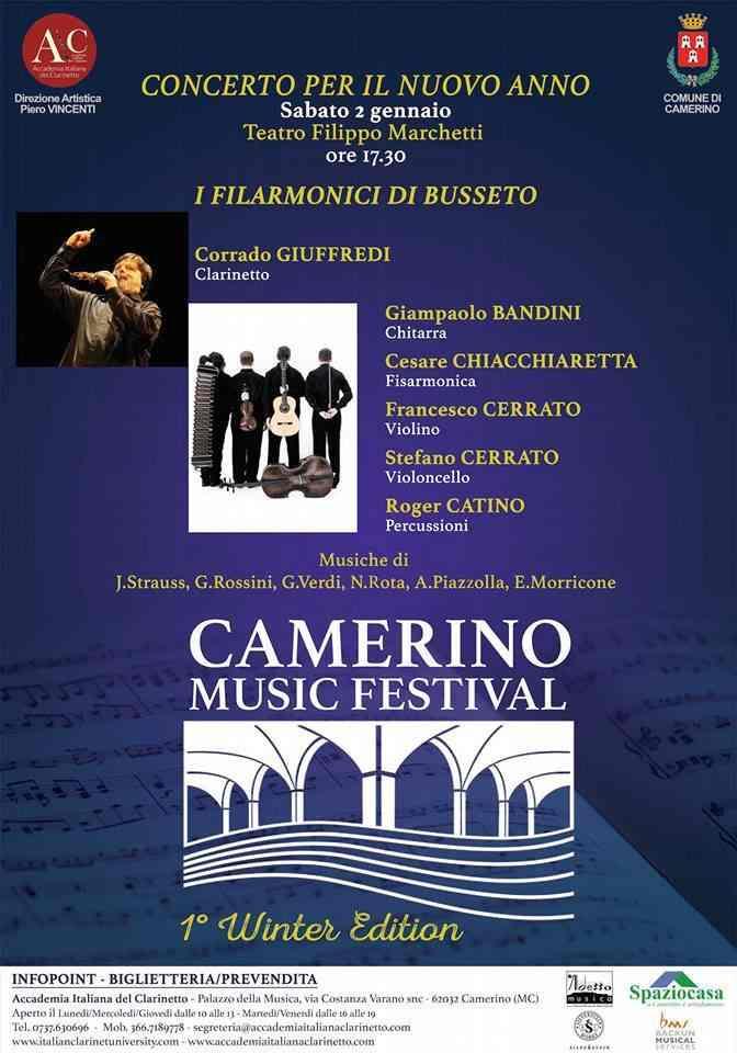 """Il """"Concerto di Capodanno"""" al Marchetti con """"I filarmonici di Busseto"""""""