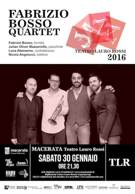Il Jazz di Bosso al Teatro Lauro Rossi