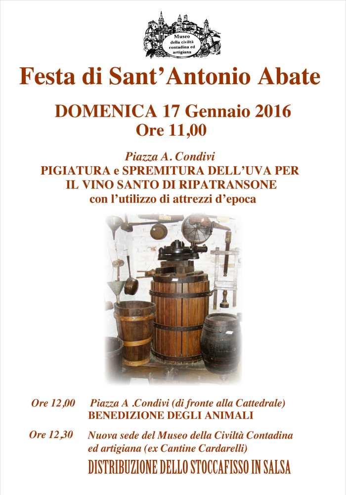 Festa di Sant'Antonio Abate a Ripatransone