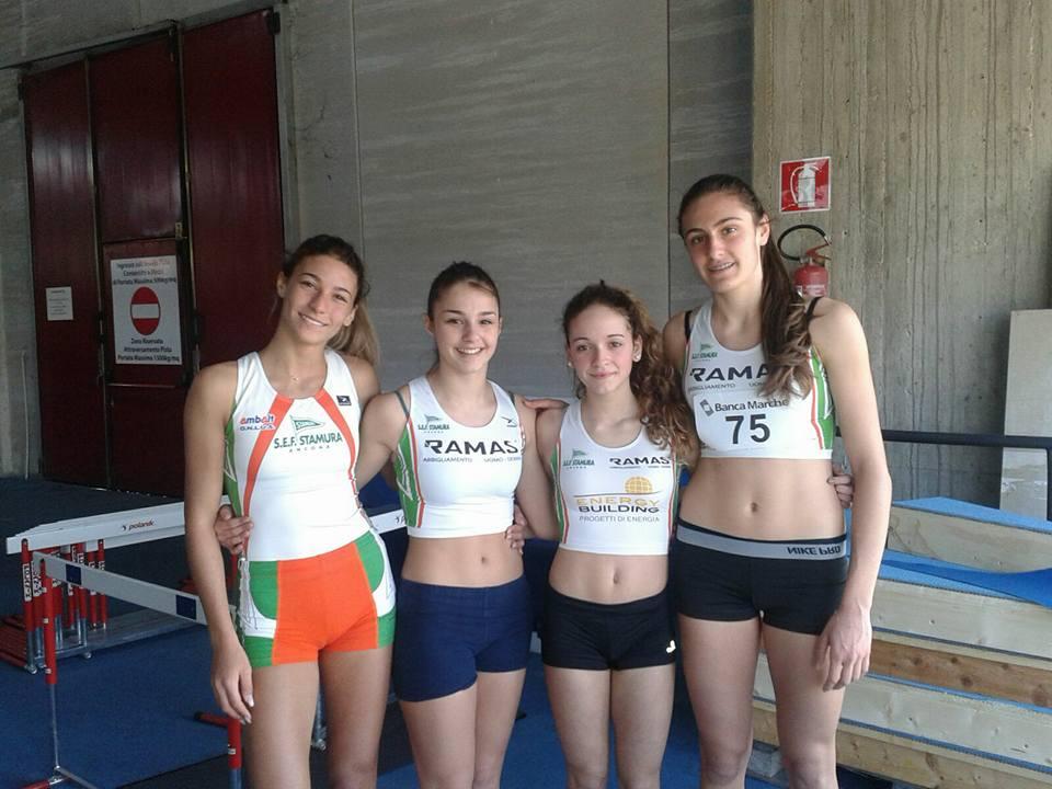 Indoor: altri due primatimarchigiani ad Ancona!
