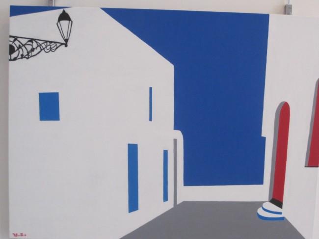 """Nicola Rosetti, """"Poesia dell'azzurro"""""""