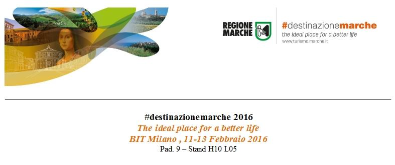 La Regione Marche alla Bit 2016