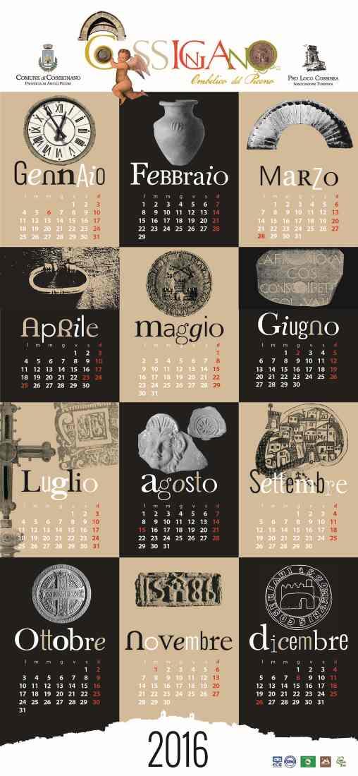 Cossignano - calendario_2016