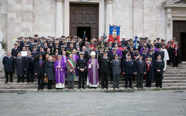 Celebrazione del Precetto Pasquale delle Forze Armate e di Polizia
