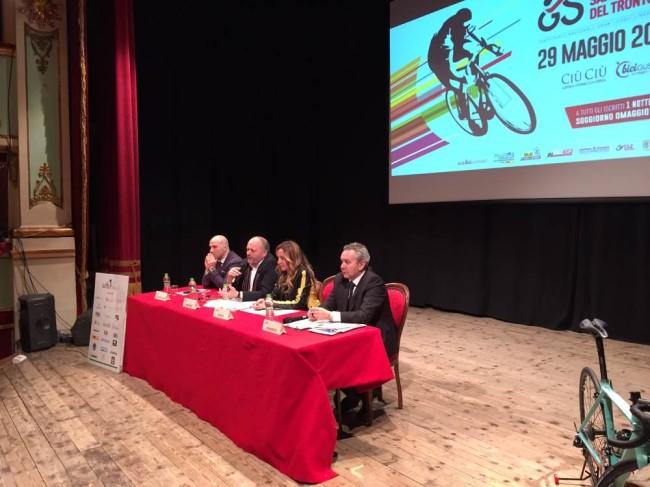 Presentazione Granfondo _Lucciarini _Gaspari _Roscioli _Bertolotti