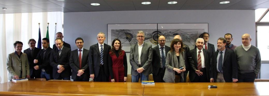 Il Presidente Ceriscioli si congratula con i fisici UniCam