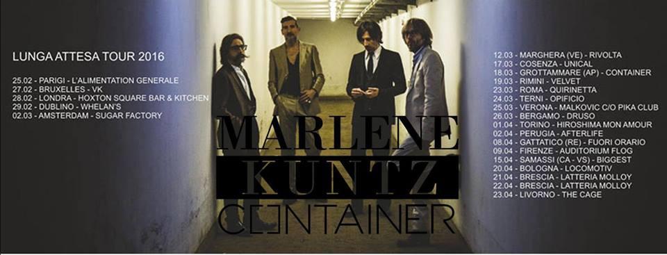 Venerdì 18 marzo i Marlene Kuntz live al Container