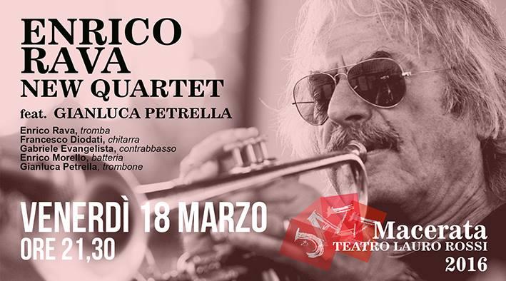 Tam – Tutta un'Altra Musica con Enrico Rava New Quartet a Macerata Jazz