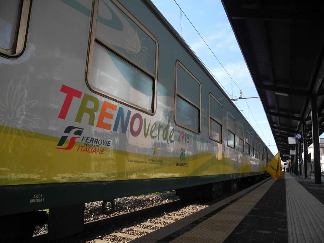 Il Treno Verde arriva a Pesaro