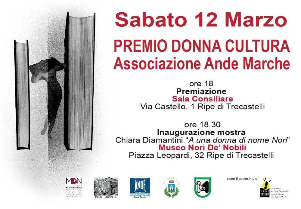 """Ande Marche Ancona premia le """"Donne Cultura"""""""