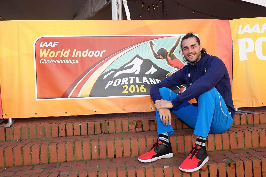 Campionati mondiali indoor: Tamberi in gara