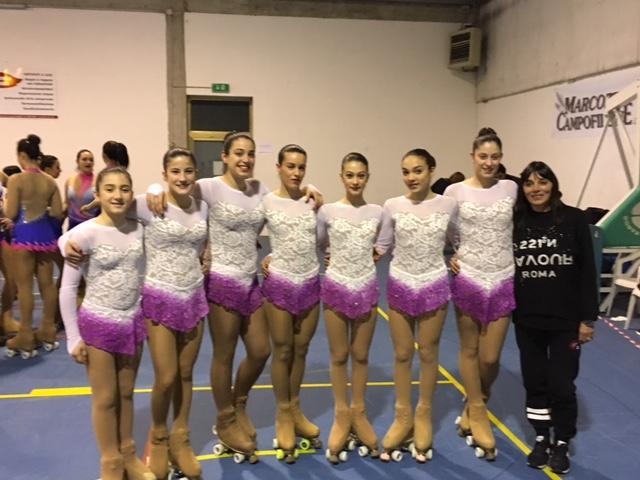 Successo della Angels skating di Monteprandone ai campionati provinciali