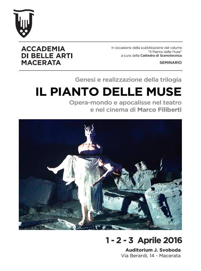 Il pianto delle Muse a Macerata