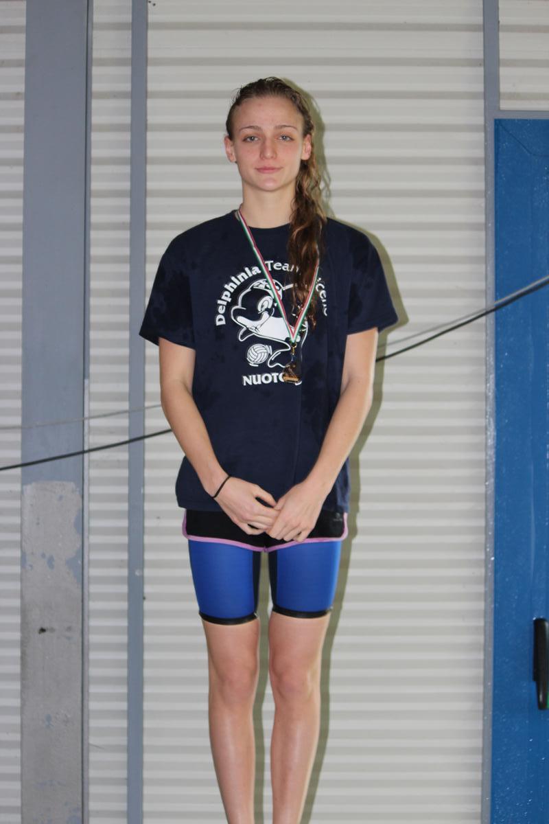 Nuoto, Jessica Iacoponi invincibile