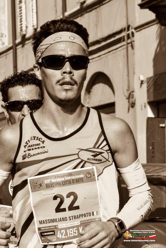Ancora record per Massimiliano Strappato al Campionato Italiano di Mezza Maratona di Fucecchio