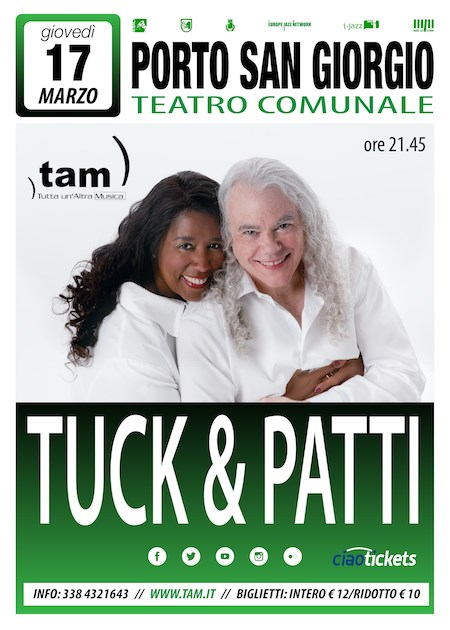 Tuck & Patti a Porto San Giorgio