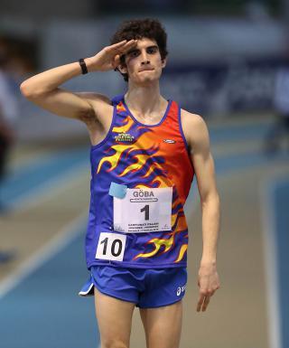 Giacomo Brandi campione italiano Juniores nella Marcia 20 chilometri