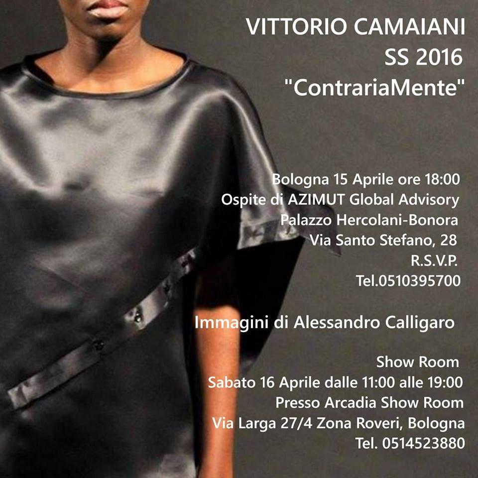 Vittorio Camaiani, AtelierPerUnGiorno @ Bologna