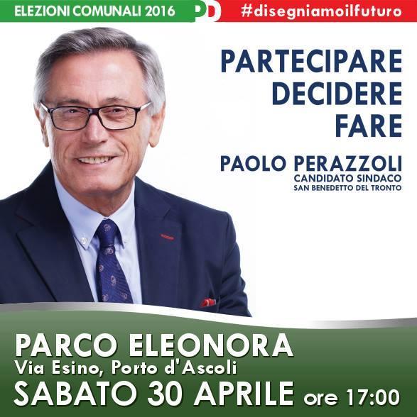 Due incontri oggi con Paolo Perazzoli