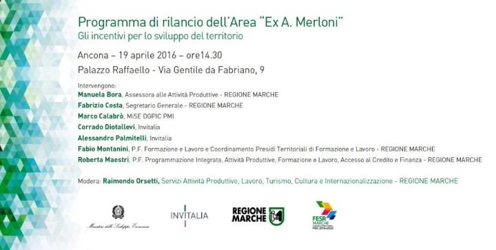 programma rilancio Area Crisi ex Merloni