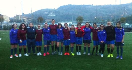 """Calcio femminile sull'altare: sei ragazze """"rossoblu"""" convocate con la rappresentativa delle Marche"""