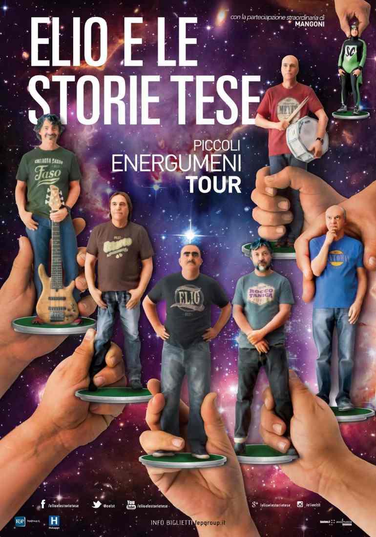 """Elio e le Storie Tese, """"Piccoli Energumeni Tour"""""""