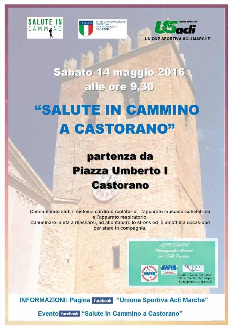 Salute in cammino fa tappa a Castorano