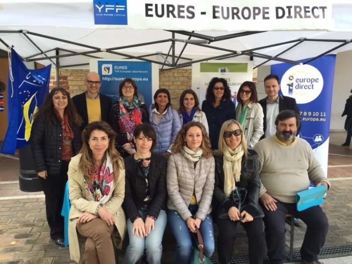 Gli operatori Eures della Provincia ad Ancona