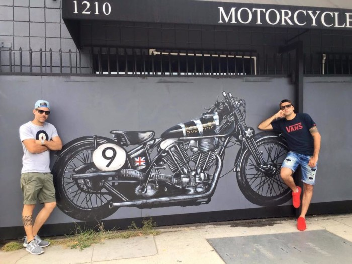 Heroes Motorcycles 1210 S La Brea 90019 Los Angeles.