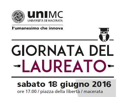 Giornata del laureato a UniMc: attesi oltre 800 partecipanti