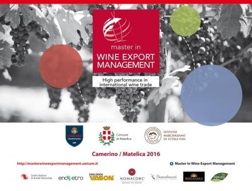 Wine export management: porte aperte al master UniCam