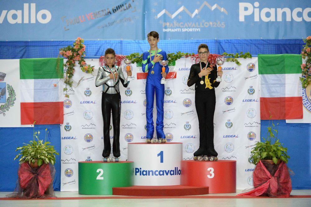 Pattinaggio Artistico: Argento per Kevin Bovara ai Campionati Italiani Federali di Piancavallo