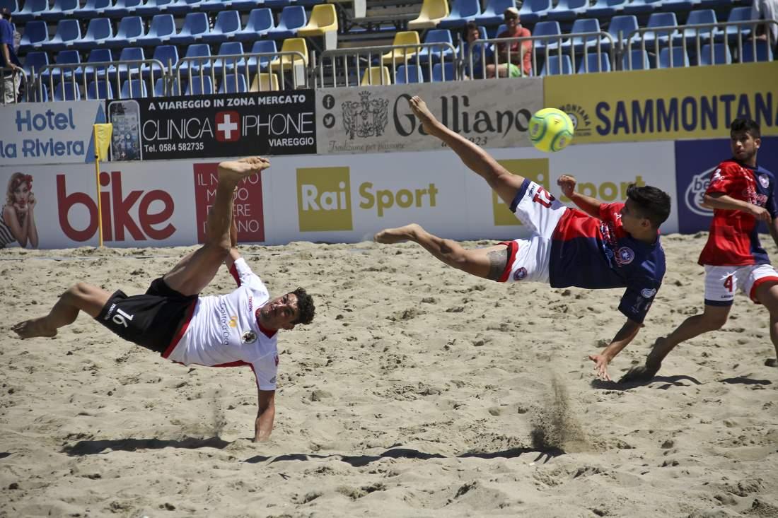 Beach soccer: Vastese – Sambenedettese 0 – 6 (0-4; 0-1; 0-1)