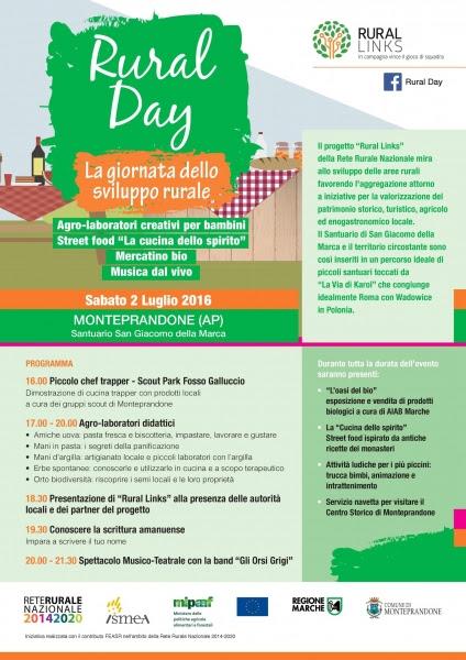 Rural Day, Giornata dello Sviluppo Rurale