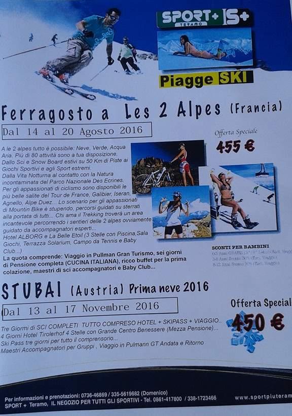Prima Neve Piagge Ski