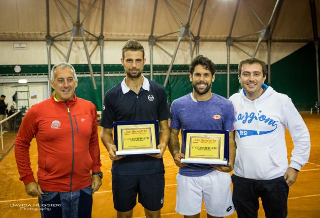 San Benedetto Tennis Cup, Finale Doppio: la coppia Napolitano - Gaio ha sconfitto 63 64  quella composta dall'argentino Arguello e dal peruviano Galdos