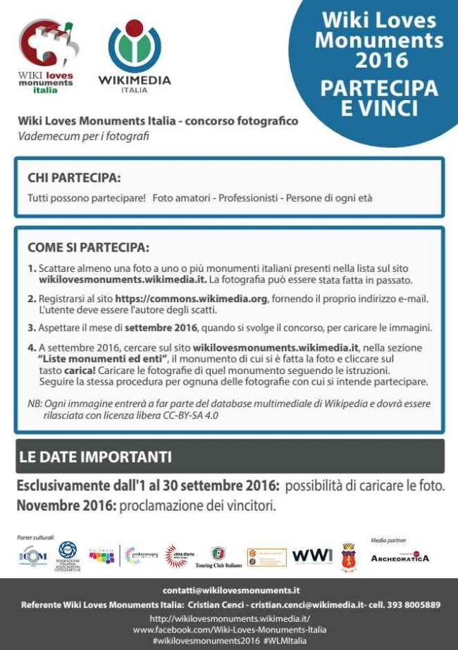Wiki Loves Monuments Italia 2016