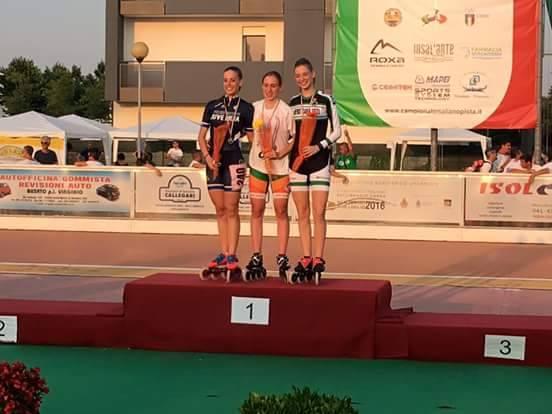 Pattinaggio, Beatrice Fausti doppio oro ai Campionati Italiani