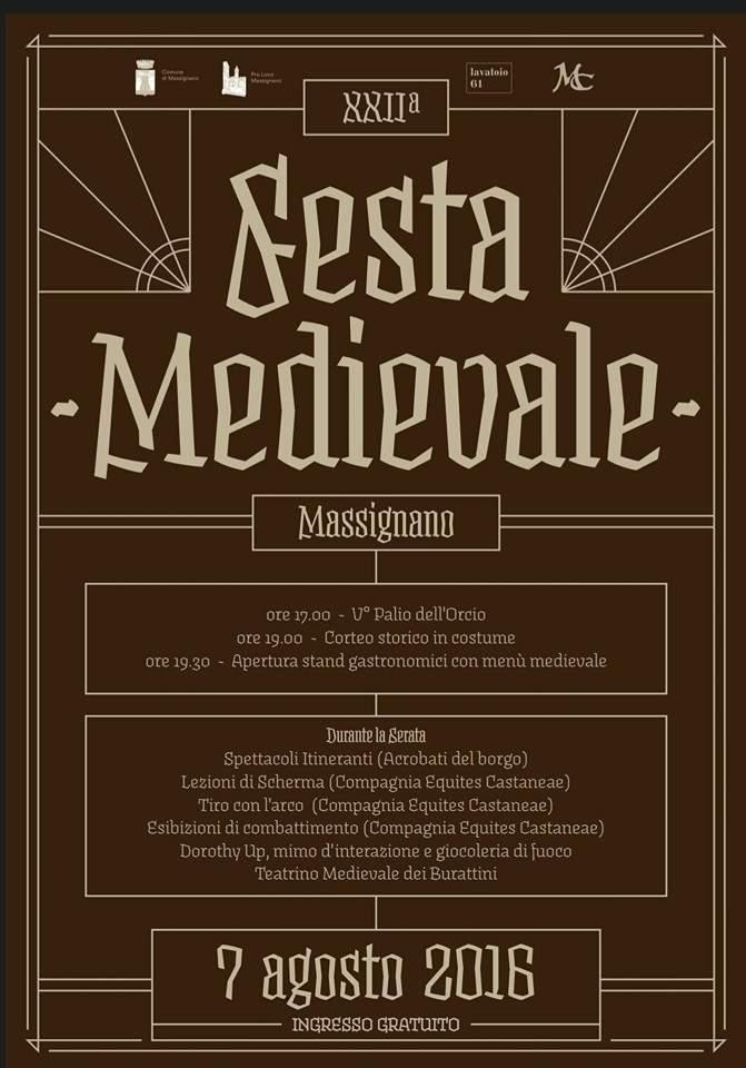 Festa Medievale a Massignano