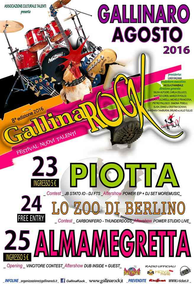 GallinaRock 2016