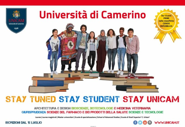 Stay Tuned, Stay Student, Stay UniCam