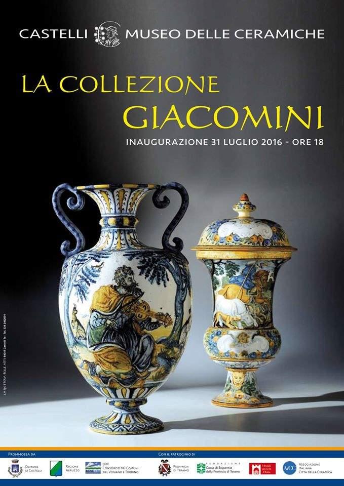 Inaugurazione della mostra della Collezione Giacomini nel Museo delle Ceramiche di Castelli