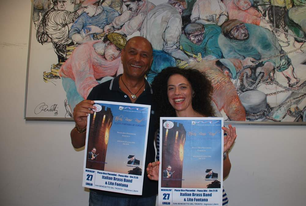 Lito Fontana e la Italian Brass Band in concerto al Paese alto