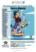 La collettiva 'Porto e dintorni' della Scuola d'Arte Misoul approda alla Torre dei Gualtieri del Paese Alto