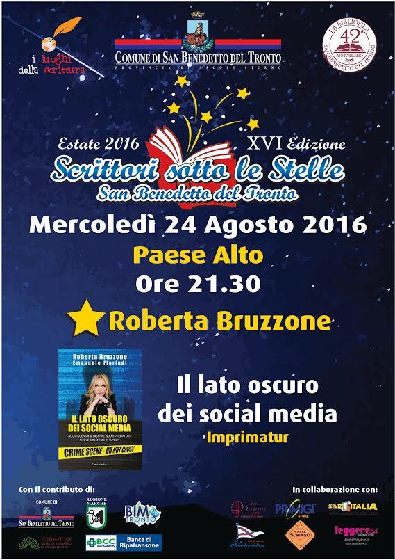 """Roberta Bruzzone, """"Il lato oscuro dei social media"""""""
