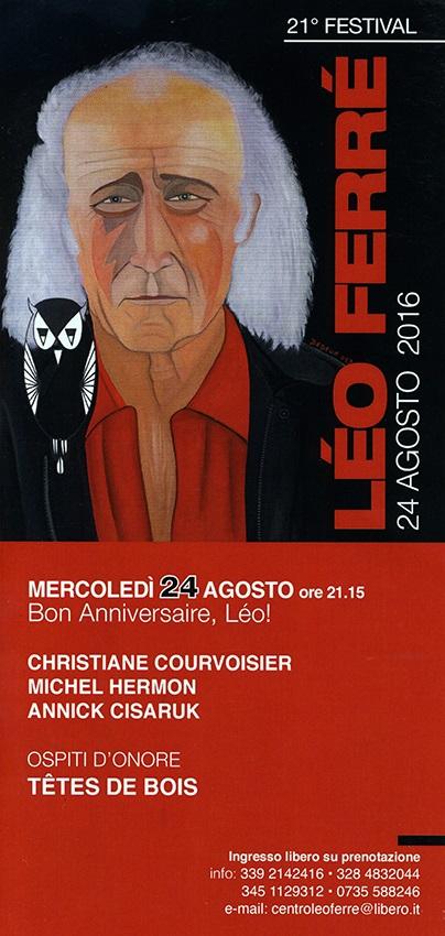 Festival Léo Ferré - 24082016