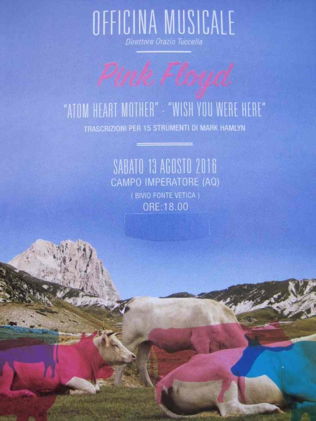 Pink Floyd a Campo Imperatore