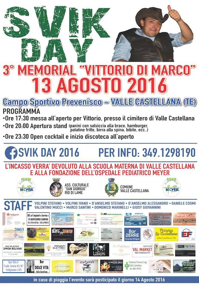 Svik Day a Valle Castellana