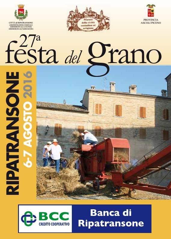 Festa del Grano a Ripatransone